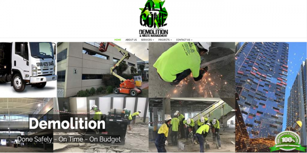 Demolition Services for Entire Structures