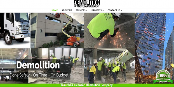 What is the importance associated with demolition and various services with regard to various assignments?